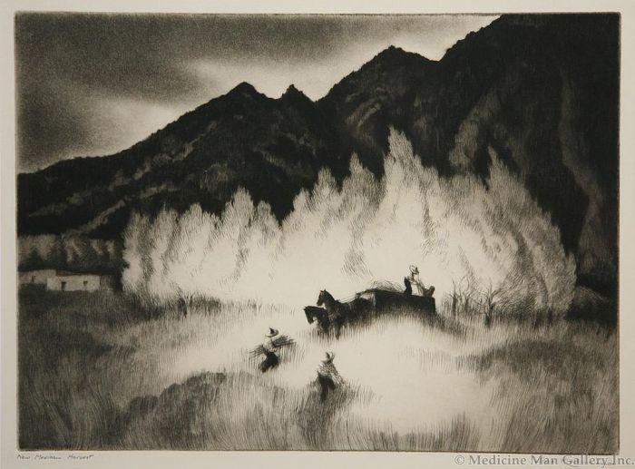 SOLD Gene Kloss (1903-1996) - New Mexican Harvest