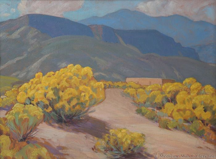 SOLD Sheldon Parsons (1866-1943) - Chamisa