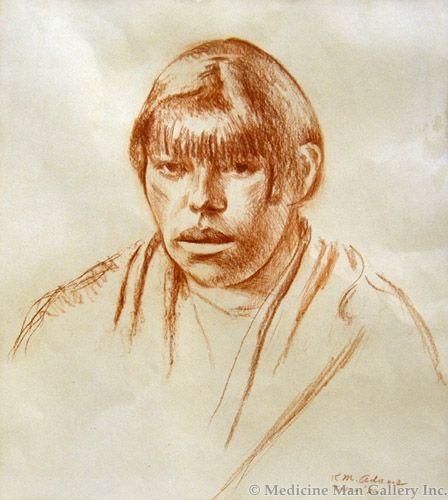 SOLD Kenneth Adams  - Taos Woman