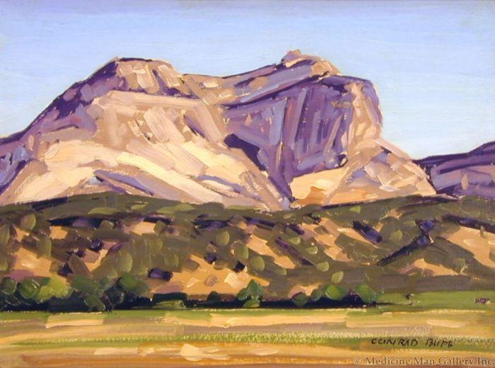 SOLD Conrad Buff (1886-1975) - Maynard Dixon's Back Porch