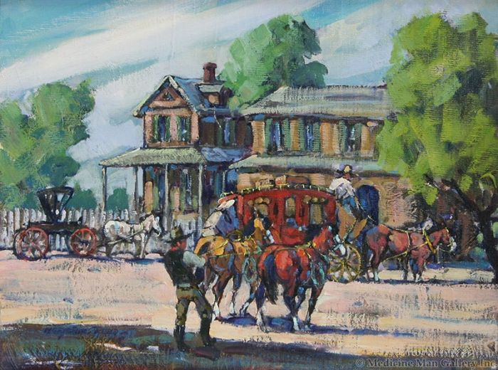 SOLD Marjorie Reed (1915-1996) - San Mateo House - Butterfield Trail
