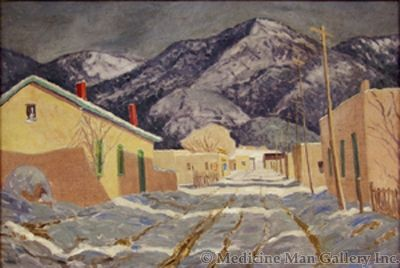 SOLD Sheldon Parsons (1866-1943) - Winter Afternoon