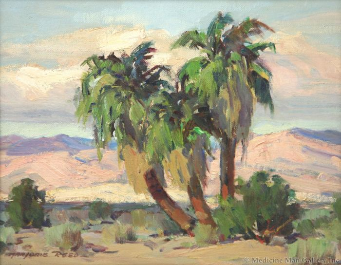 SOLD Marjorie Reed (1915-1996) - Tres Palmas