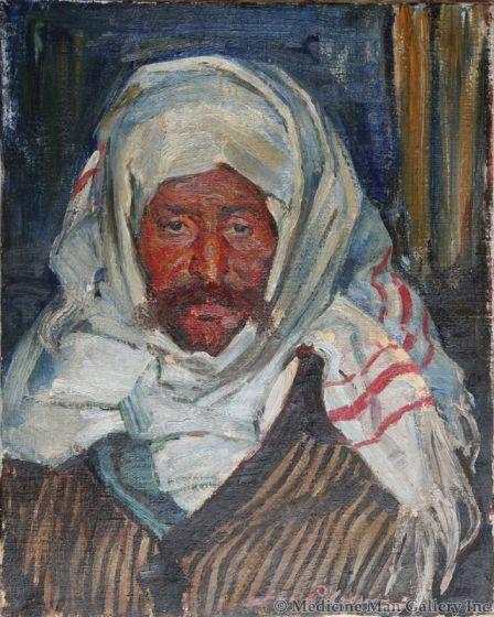 SOLD Gerald Cassidy (1879-1934) - Bedouin Man