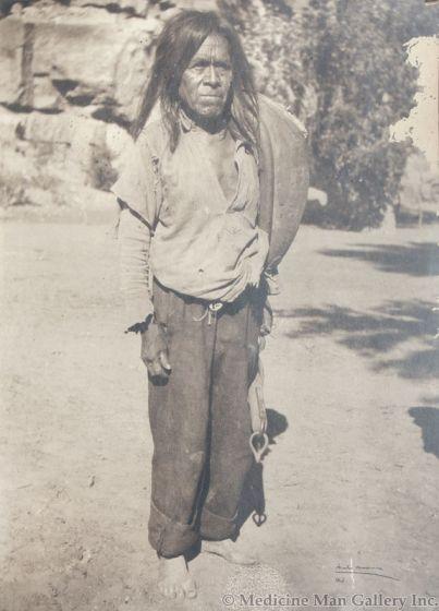 Mode Wineman (d. 1933) - Walpi Man, c. 1900-10s (M91924-069-012)
