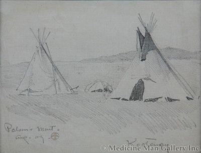 Maynard Dixon (1875-1946) - SOLD - Kootenay - Polson, Mont.
