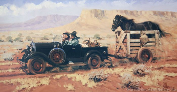 Fred Fellows - Life in the Fast Lane (Giclee Print on Canvas)