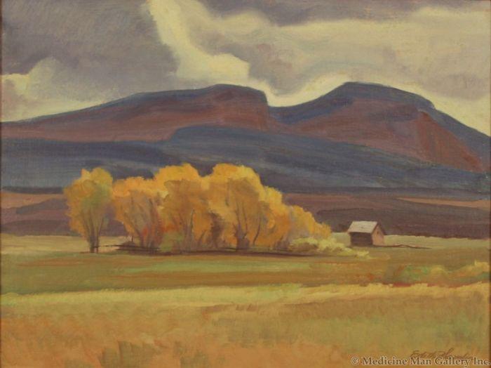 SOLD Edith Hamlin (1902-1992) - Lonesome Valley, Utah