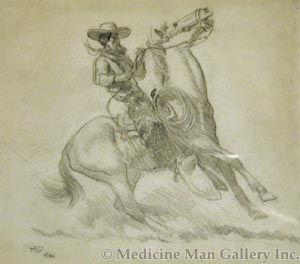 Maynard Dixon (1875-1946) - SOLD - California Vaquero