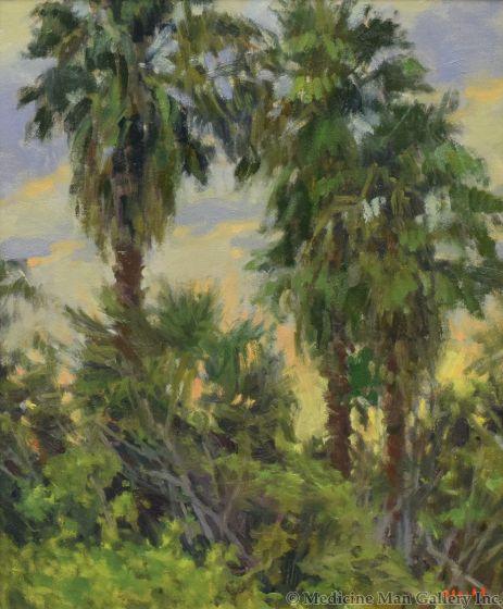 Gregory Hull - Dancing Palms