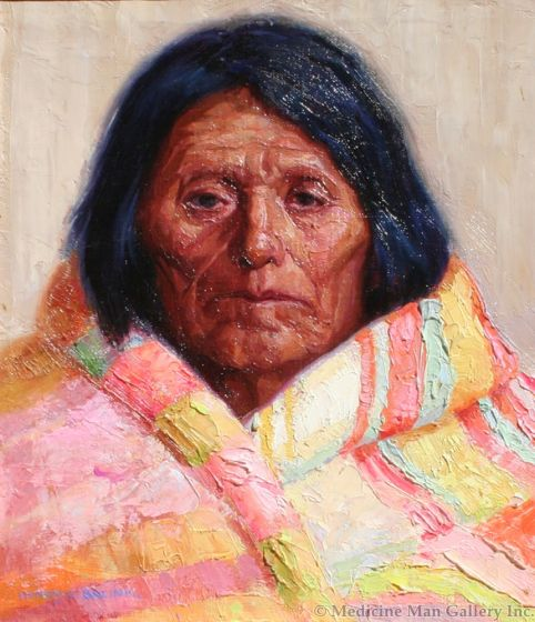 SOLD Henry Balink (1882-1963) - The Chiefs Blanket