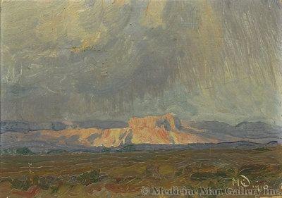 Maynard Dixon (1875-1946) - SOLD - Mesa