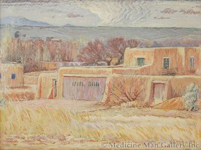 SOLD Datus Myers (1879-1960)New Mexico Afternoon