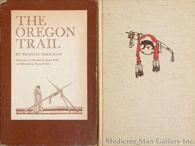 Maynard Dixon (1875-1946) - SOLD - Francis Parkman's The Oregon Trail, Illustrated by Maynard Dixon (1875-1946)