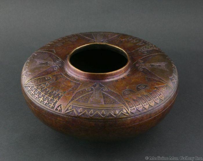 SOLD Doug Hyde - Hopi Butterfly Pot