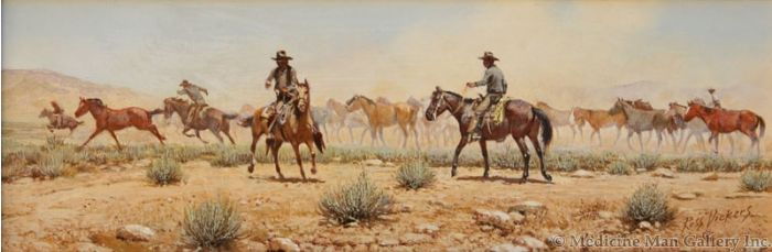 SOLD Russ Vickers (1923-1997) - The Wild One