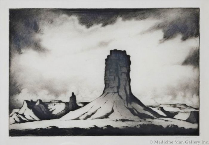 SOLD Gene Kloss (1903-1996) - Monument to Space