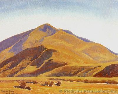 Maynard Dixon (1875-1946) - SOLD - Caliente Hills #1