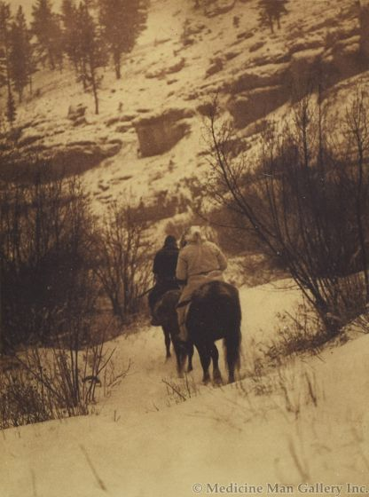 Edward S. Curtis (1868-1952) - Winter Hunters