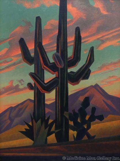 Ed Mell - Saguaro Kings II