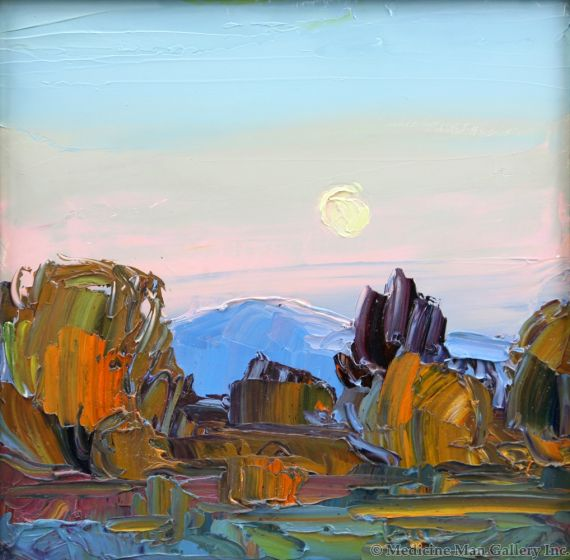Louisa McElwain (1953-2013) - Moonset