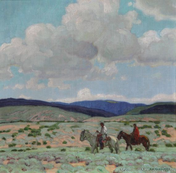 SOLD E. Martin Hennings (1886-1956) - In the Foothills