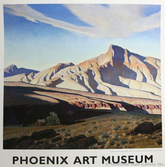 Maynard Dixon (1875-1946) - SOLD - Phoenix Art Museum - Maynard Dixon Poster
