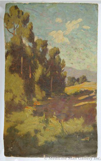 SOLD Warren Rollins (1861-1962) - Pueblo of Santa Clara