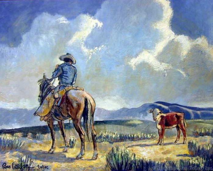 SOLD Ross Stefan (1934-1999) - On the Range
