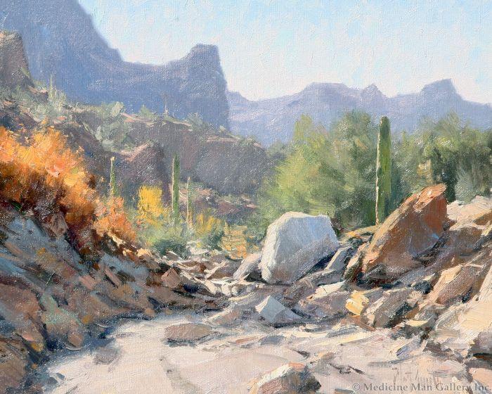 SOLD Matt Smith - Tortilla River Rock