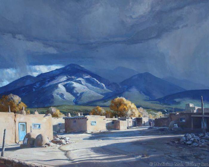 Josh Elliott - October, Taos Pueblo