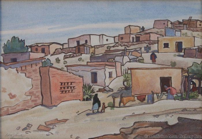 SOLD Edith Hamlin - Hill Dwellers