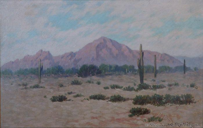 x SOLD Warren E. Collins (1861-1962) - Camelback Mountain