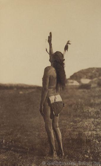 Edward S. Curtis (1868-1952) - The Sun Dancer