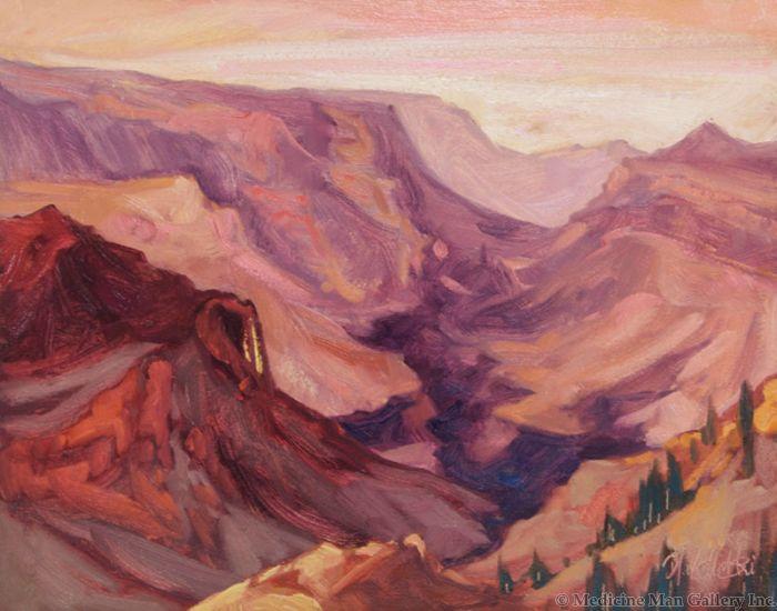 Dominik Modlinski - Storm over Grand Canyon
