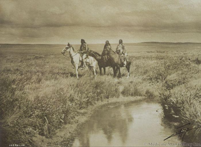 Edward S. Curtis (1868-1952) - Three Chiefs