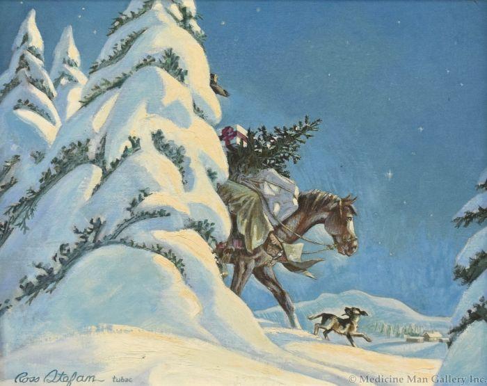 Ross Stefan (1934-1999) - Christmas Coming