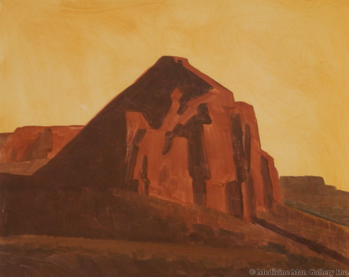 SOLD Ed Mell - Rusted Rock