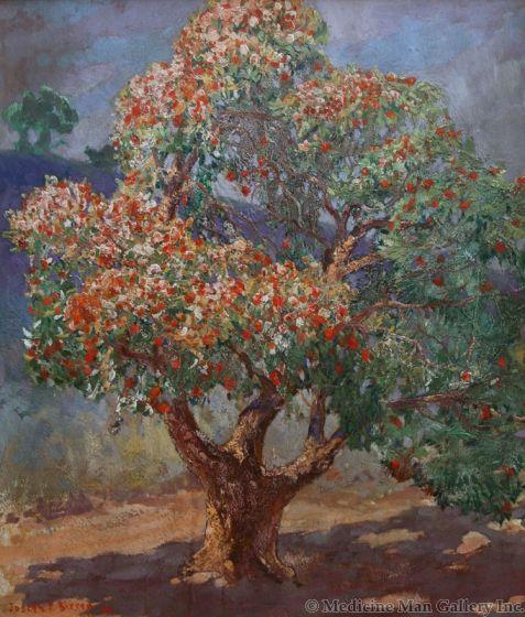 SOLD Joseph Pierre Birren (1864-1933) - A Tree Monument