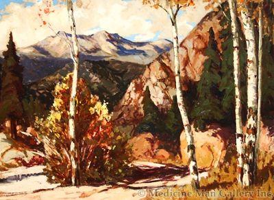 SOLD Fremont Ellis (1897-1985) - Red River Canyon