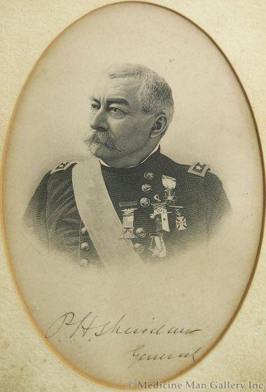 Lithograph of P.H. Sheridan General