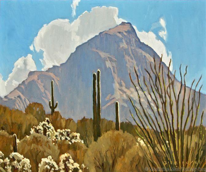 Dennis Ziemienski - Desert Peak