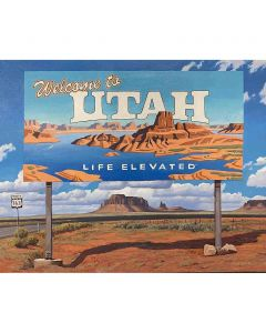 David Meikle - Welcome to Utah, Monument Valley (PLV91326B-0920-009)