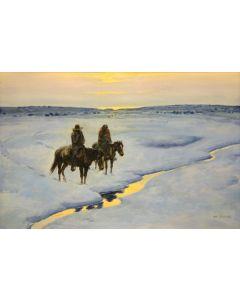 Joe Beeler (1931-2006) - The Long Winter