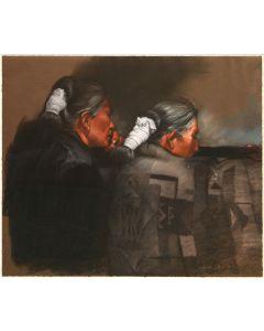 SOLD Clifford Beck, Jr. (1946-1995) - Tall Salt Sisters