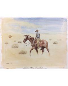 Leonard H. Reedy (1899-1956) - Defeating Sandstorm