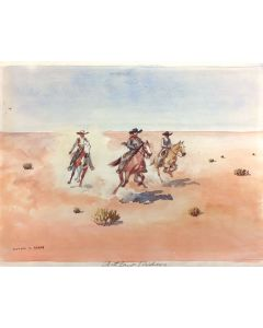 Leonard H. Reedy (1899-1956) - Outlaw Riders