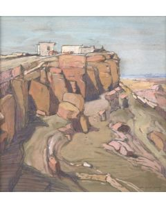 Carl Oscar Borg (1879-1947) - Hopi Village