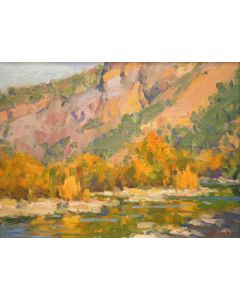 Gregory Hull - Salt River - 30% Off Gregory Hull Paintings - March 31 to April 7