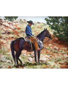 Jan Mapes - Hillside Watch (PLV91321-0117-005)